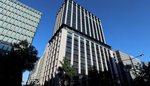 三菱UFJ銀行大阪ビル本館の建設工事の状況 18.06
