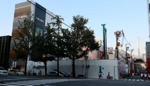 (仮称)大阪Mプロジェクト「ルイ・ヴィトン」が心斎橋筋2丁目の御堂筋沿いに建設予定の複合ビル計画の状況 18.07