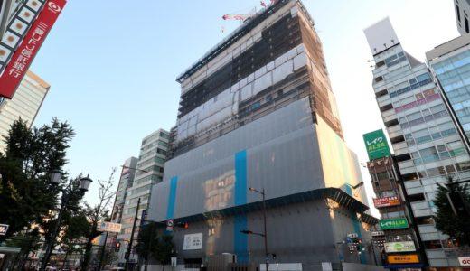 ホテルロイヤルクラシック大阪(仮称)の建設状況 18.07