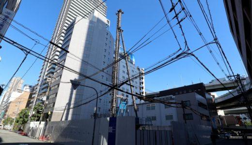 (仮称)ユニゾインエクスプレス大阪南本町の建設状況 18.07