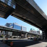 阪神高速-西船場JCTの建設状況 18.07