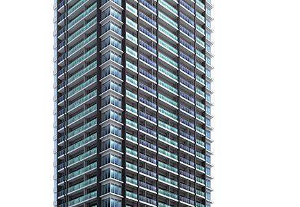 ジオタワー南森町(仮称)大阪市北区東天満2丁目計画の建設状況 18.08