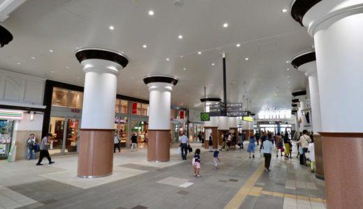 JR神戸線ー神戸駅耐震化&リニューアル工事の状況 18.08