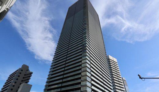 【竣工】日本一の免震タワーマンション「ザ・パークハウス中之島タワー」の状況 18.08