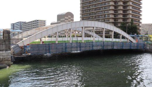2020年1月末まで2年間通行止め。堂島大橋改良工事の状況 18.08