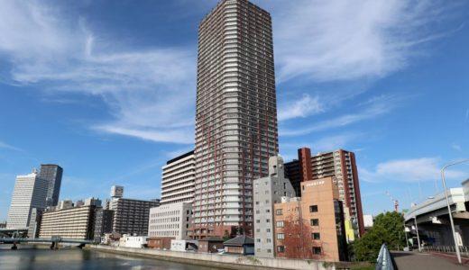 【竣工】阿波座ライズタワーズ フラッグ46(OMPタワー)の状況 18.08