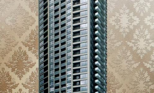 プラウドタワー北浜(仮称)大阪市中央区・高麗橋2丁目計画の建設状況 18.08