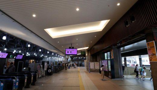 JR天王寺駅ー東口リニューアル工事の状況 18.08
