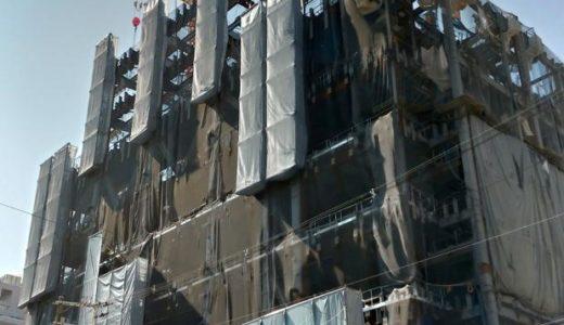 日本橋に超高層ビル!新日本橋ビル(仮称)新築工事の状況 18.08