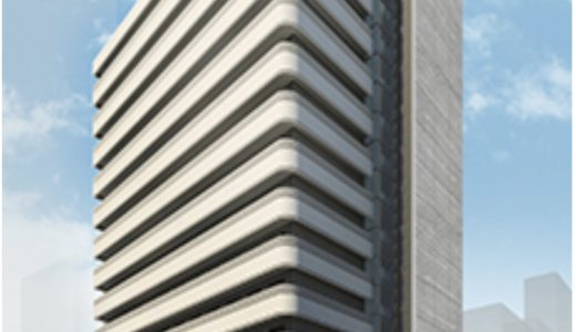 (仮称)北浜ビル『(仮称)北浜ビル建替計画』、神戸土地建物が建設中のシェアハウスの建設状況 18.08