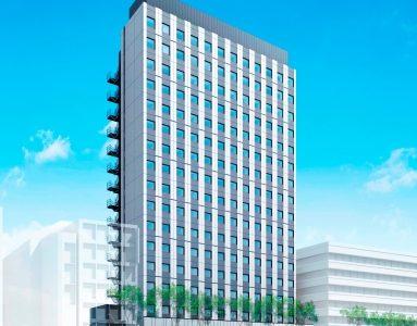 【20年7月開業予定】関電不動産開発が『新宇治電ビル』跡に地上17階建てのホテルを開発
