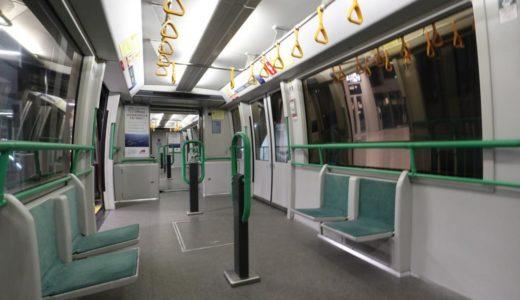 関西空港のウイングシャトルは『エレベータ』と同様の昇降機扱いの輸送システム