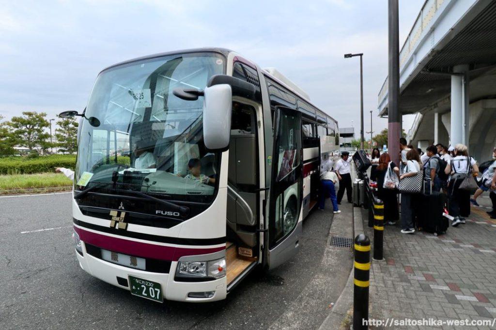 関西のバス会社が関空に結集して『関西空港』〜『りんくうタウン駅』間のピストン輸送を実施!