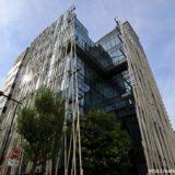 碧海信用金庫・御園支店は建築家の隈研吾氏がデザインを手がけた和モダンな建物
