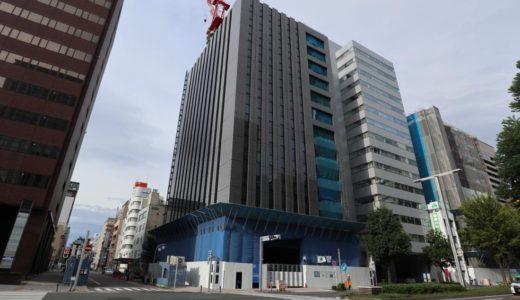 【2019年2月竣工】(仮称)ヤマイチビルの建設状況 19.09