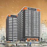 【2020年5月開業予定】アパホテル〈新大阪駅前〉の建設状況 18.11