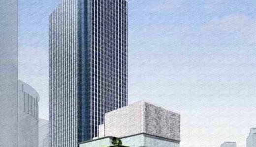 【2023年度開業予定】大阪中央郵便局跡の再開発ー梅田3丁目計画(仮称)が再始動!1700席の劇場を併設し高容積率を確保