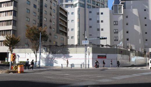 (仮称)新サンケイビル建替プロジェクトの建設状況 18.11