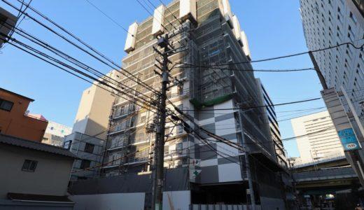 【2019年10月オープン】ホテルWBF新大阪スカイタワーの建設状況 18.11