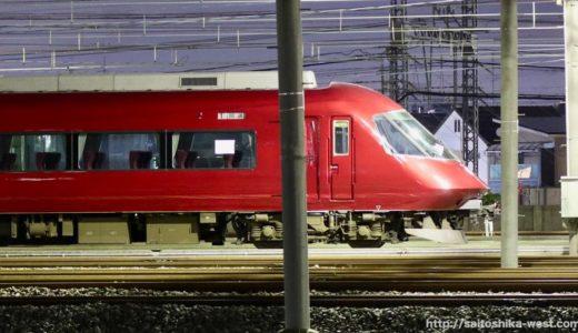 【赤いアーバン】次世代名阪特急開発に伴う試験塗装が実施される。アーバンライナーPlusがメタリックレッドに変身!