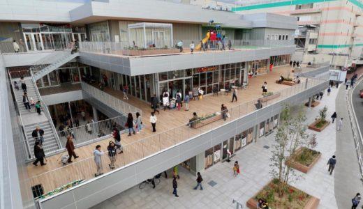 【2018年11月23日オープン】トナリエ大和高田ー2020年ドバイ万博日本館を担当する建築家、永山祐子氏が手がけた建物がオシャレ