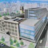 京都市役所の再整備計画、北庁舎・西庁舎建替え工事の状況 18.12