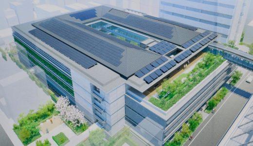 京都市役所の再整備計画、分庁舎新築工事他の状況 18.12