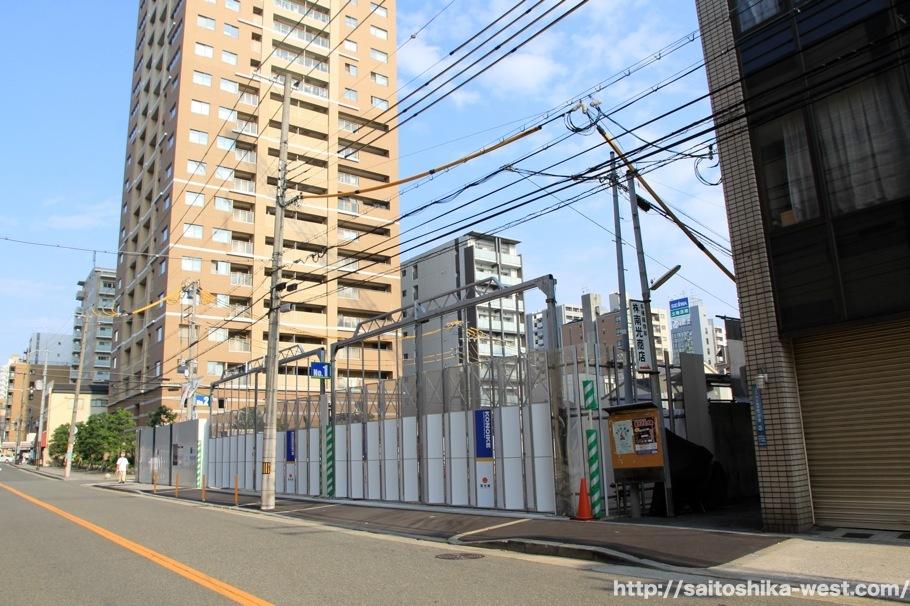 仮称)グランドメゾン内久宝寺町2丁目タワー計画の状況 17.07 | Re ...