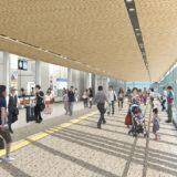 【2020年度末完成】大和西大寺駅南北自由通路等整備工事ー自由通路本体工事がついに着工!
