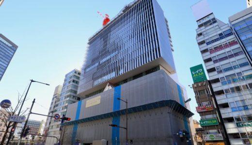 ホテルロイヤルクラシック大阪・難波の建設状況 18.12.30