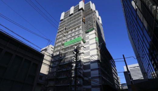 【2019年10月オープン】ホテルWBF新大阪スカイタワーの建設状況 19.01