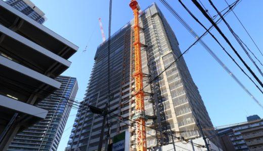 【2020年3月竣工】ブランズタワー梅田 Northの建設状況 19.01