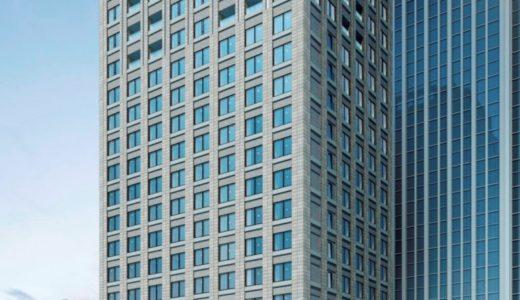 【2020年初夏開業】(仮称)堂島浜プロジェクトー パレスホテルの新ブランドホテルの建設状況 19.02