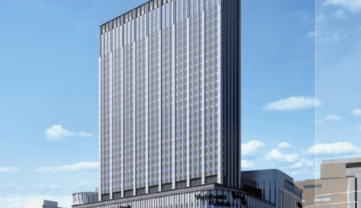【2020年初春開業予定】(仮称)ヨドバシ梅田タワー計画の状況 19.02