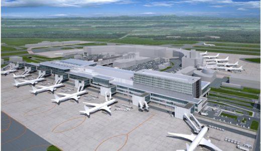 【2020年3月完成予定】新千歳空港 国際線ターミナル 拡張工事の状況 19.02