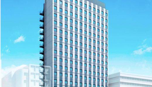 【2020年7月開業】関電不動産開発が曽根崎に建設中のホテル、(仮称)曽根崎1丁目地点新築工事の状況 19.02