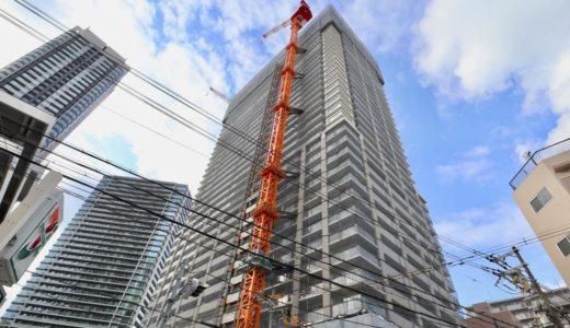 【2020年3月竣工】ブランズタワー梅田 Northの建設状況 19.02
