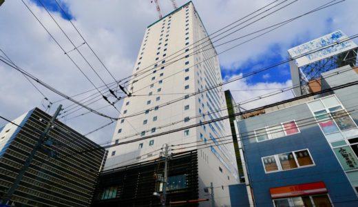 からくさホテルグランデ新大阪タワーの建設状況 19.02