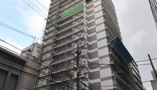 【2019年10月オープン】ホテルWBF新大阪スカイタワーの建設状況 19.02