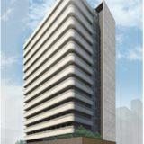 (仮称)北浜ビル『(仮称)北浜ビル建替計画』、神戸土地建物が建設中のシェアハウスの建設状況 19.03