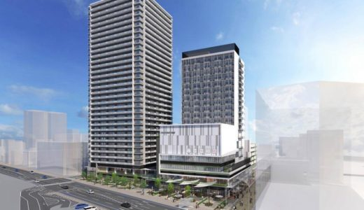 【2025年度竣工予定】JR岡山駅前市街地再開発事業の都市計画が決定!