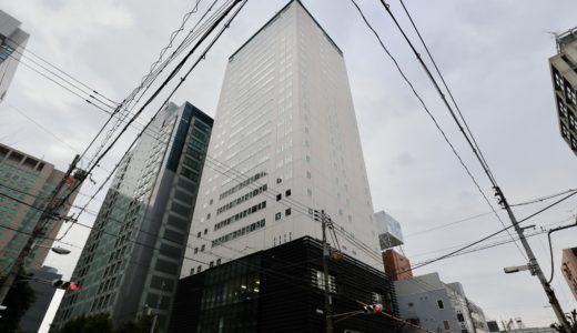 からくさホテルグランデ新大阪タワーの建設状況 19.03