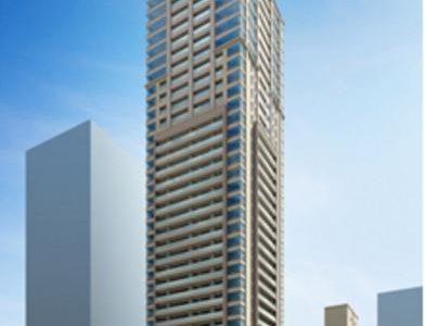 【2020年01月竣工】グランドメゾン上町台 ザ・タワーの状況 19.03