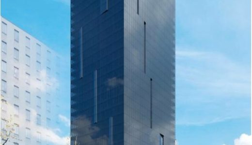 【2020年10月竣工】W OSAKA(W大阪)マリオットと積水ハウスが御堂筋沿いに建設中のWホテルの状況 19.03