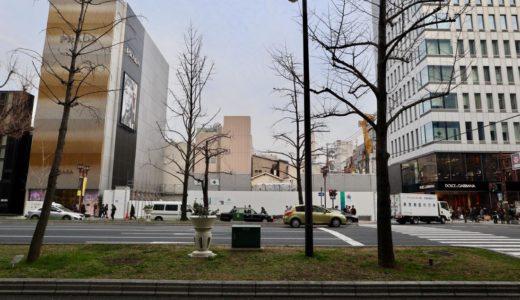 【2019年11月竣工】(仮称)大阪Mプロジェクト「ルイ・ヴィトン」が御堂筋沿いに建設中の複合ビル計画の状況 19.03