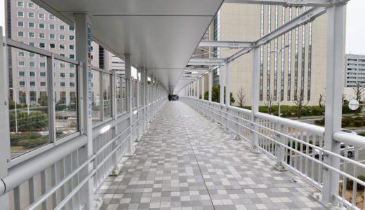 「千里橋改修工事」千里中央エリアと新千里西町を結ぶ歩道橋のリニューアル工事が完成!