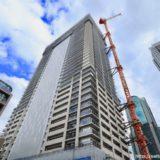 【2020年3月竣工】ブランズタワー梅田 Northの建設状況 19.03