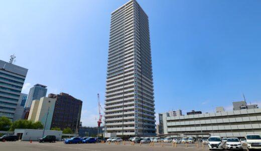 竣工した「プレミスト札幌ターミナルタワー」の状況 21.07