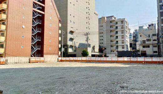 【2023年03月竣工】(仮称)プレサンスロジェ新町タワーの建設状況 19.03