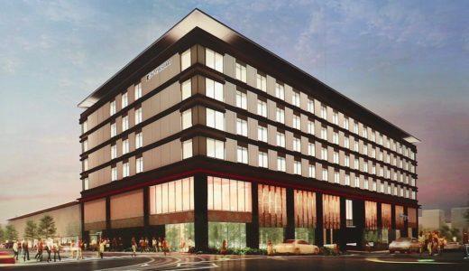 【2020年春オープン】JWマリオットホテル奈良計画の建設状況 19.04
